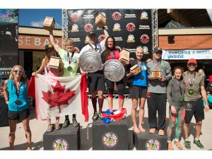 Spartan world championships podium